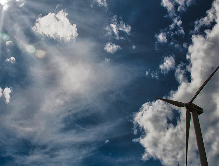 LES wind turbine